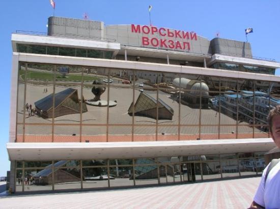 โอเดสซา, ยูเครน: pristav Odesa