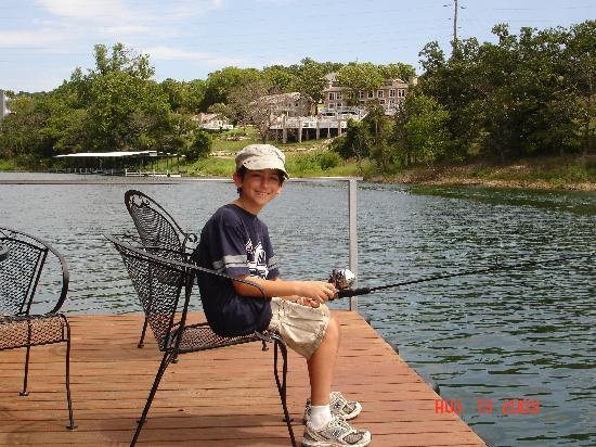 Cedar Wood Resort: Fishing in the great outdoors
