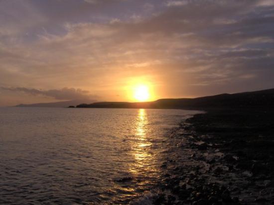 ฟวยร์เตเบนตูรา, สเปน: Ein schöner Sonnenuntergang in Fuerteventura (Tarajalejo) / Spanien.