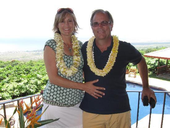 Holualoa Inn: The anniversary crew again