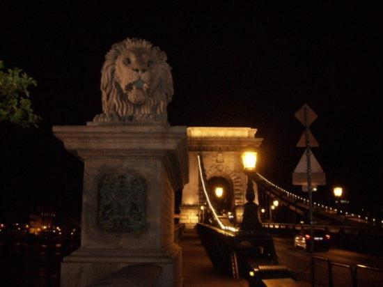 สะพานโซ่: The Chain bridge and the lion