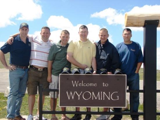 เรดลอดจ์, มอนแทนา: Montana/Wyoming border.
