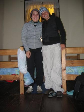 บัลปาราอีโซ, ชิลี: dos chicas en Milhouse Hostal