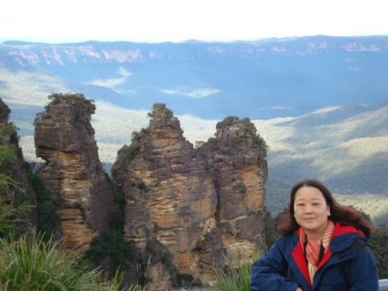 Blue Mountains National Park, ออสเตรเลีย: Three Sisiters