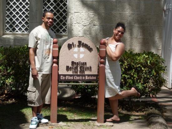 บาร์เบโดส: St James church    Barbados