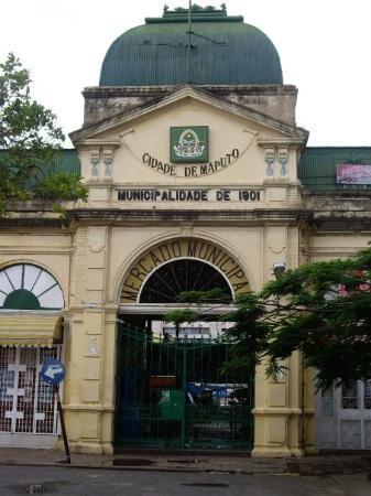 มาปูโต, โมซัมบิก: The entrance to the Mercado (market)