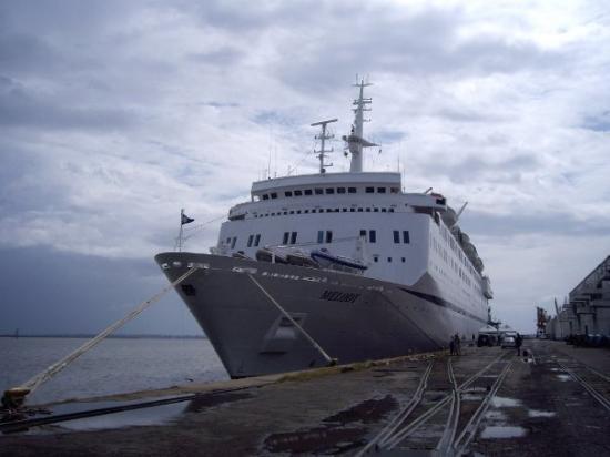 มาปูโต, โมซัมบิก: The Melody ship in Maputo Harbour