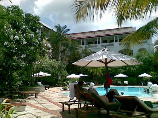 แซนซิบาร์, แทนซาเนีย: Serena Hotel swimming pool