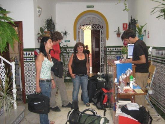 เซบียา, สเปน: unsere Jugendherberge in Sevilla - superschön