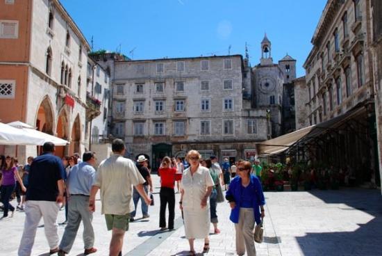 Narodni trg: Trg Narodni, Split, Croatia