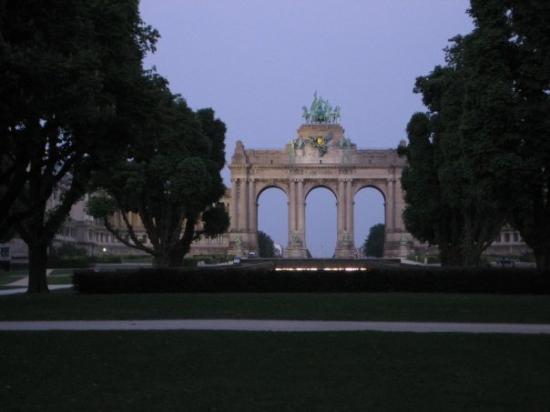 Parc du Cinquantenaire ภาพถ่าย