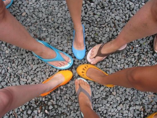 บาร์นสเตเบิล, แมสซาชูเซตส์: Sont à qui tous ces pieds?