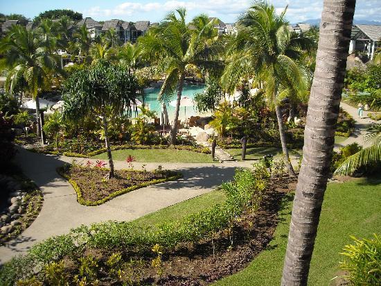 เรดิสัน บลู รีสอร์ท ฟิจิ เดนาเรา ไอส์แลนด์: View from the room looking into resort
