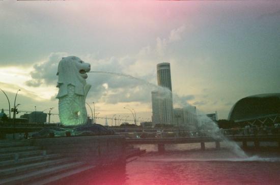 คลาร์กคีย์: Merlion. Singapore Harbor