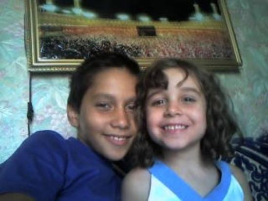 แอลเจียร์, แอลจีเรีย: zohra de fils teddy et ma niece voici yasmina