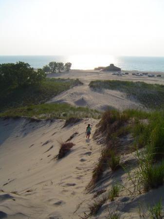 Sawyer, มิชิแกน: Sand, sand and more sand!