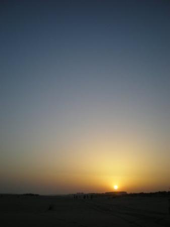 อูเอลบา, สเปน: Al menos una vez en la semana uno se debía sentar a ver la puesta de sol...it´s so nice;)