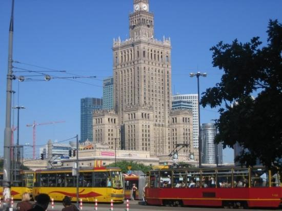 Palace of Culture and Science: Varsovia