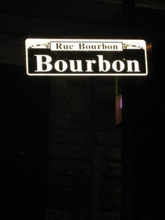 นิวออร์ลีนส์, หลุยเซียน่า: Buorbon.....  the most famous street