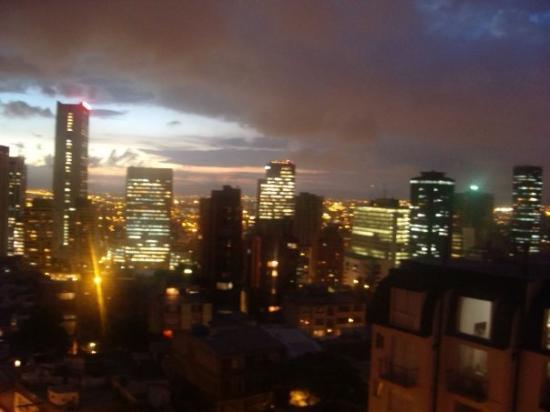 โบโกตา, โคลอมเบีย: Bogotá de noche