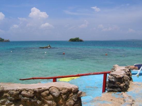 การ์ตาเคนา, โคลอมเบีย: Cartagena !!! - Isla del Pirata