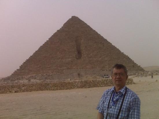 กิซ่า, อียิปต์: Great Pyraminds at Giza, Egypt May 2009