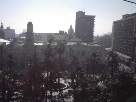 ซันเตียโก, ชิลี: A view of the downtown plaza