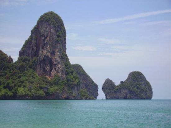 เมืองกระบี่, ไทย: Rai Leh peninsula