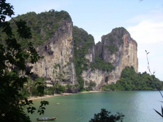 เมืองกระบี่, ไทย: Ao Ton Sai at the Rai Leh peninsula, Krabi Thailand