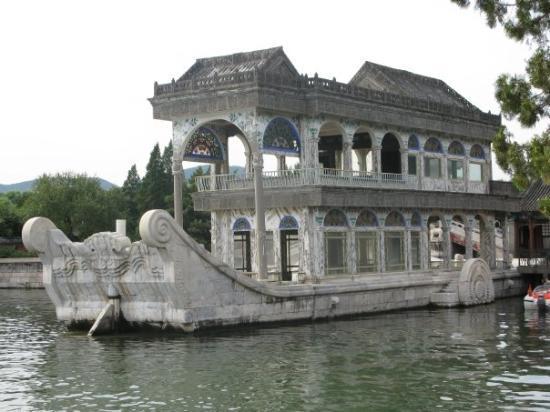 พระราชวังฤดูร้อน: Summer Palace- Marble Boat