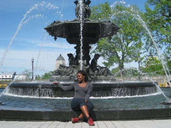 ควิเบกซิตี, แคนาดา: me relaxing after a long walk in Quebec