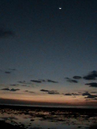 กีลีทราวางกาน, อินโดนีเซีย: Sunset at Gili with moondance mood