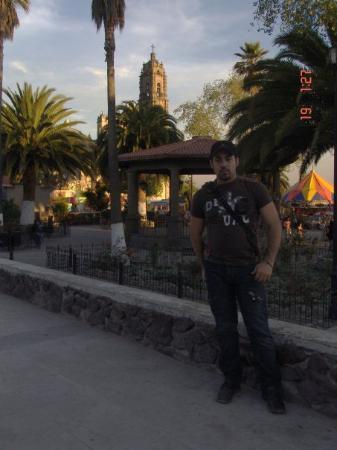 Tepoztlan, เม็กซิโก: En la plaza del pueblo