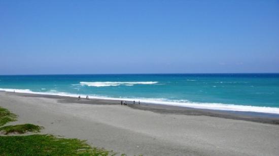 Taitung, ไต้หวัน: 海~~海~~美麗的海