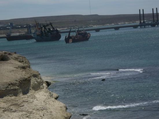 Puerto Madryn, อาร์เจนตินา: Vista Panoramica del Puerto de Madrin, realmente es un lugar para visitar