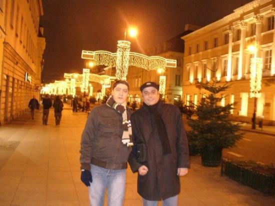 วอร์ซอ, โปแลนด์: With Alex on the streets in Warsaw, Poland