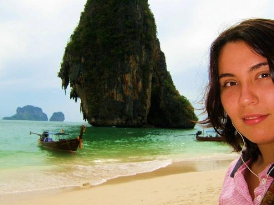 เมืองกระบี่, ไทย: En la playa