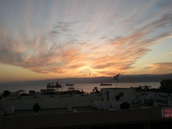 อควาบา, จอร์แดน: Zicht op de Golf van Aqaba