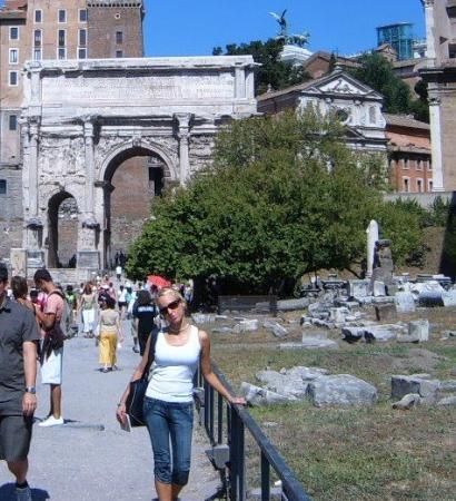 Palatine Hill: Rome