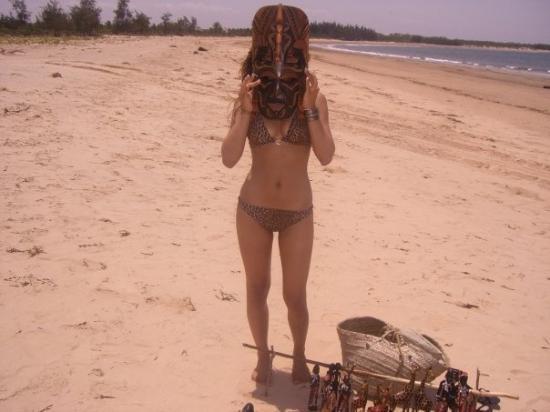 Malindi, เคนยา: maschera africana