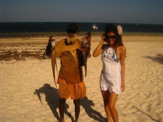 Malindi, เคนยา: pescatore africano