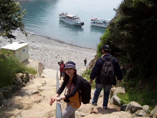ปูซาน, เกาหลีใต้: Going to take the ship cruise