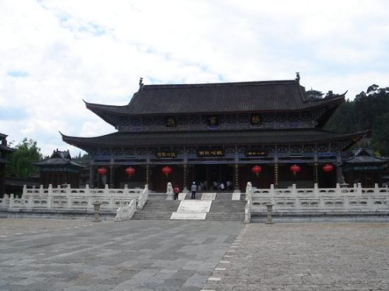 Old Town of Lijiang - China: Inside the palace.