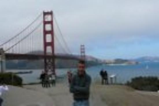 สะพานโกลเดนเกท: GOLDEN GATE BRIDGE San Francisco California   ottobre '06