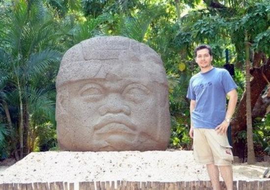 ปาร์คมูซีโอลาเว็นตา: Cabeza Olmeca, Museo de la Venta, Villahermosa, Tabasco, México