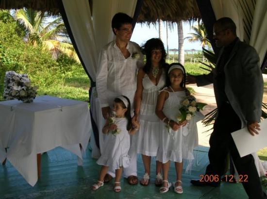 Cayo Guillermo, คิวบา: Casandonos y con el ministro