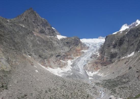 กูร์มาเยอร์, อิตาลี: Pre de Bar glacier