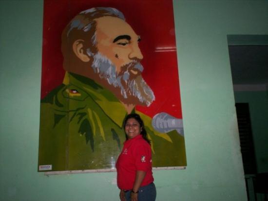 Cayo Santa Maria (เกาะคาโย ซานตา มารีอา), คิวบา: EN LA CASA DE LA JUVENTUD COMUNISTA..EN LA HABANA..