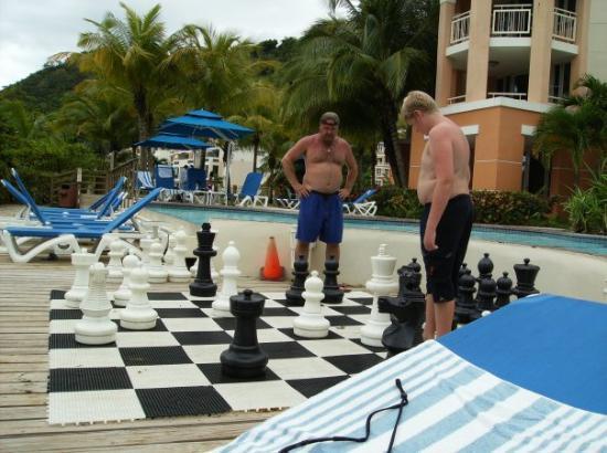 เปอร์โตริโก, สเปน: giant chess board