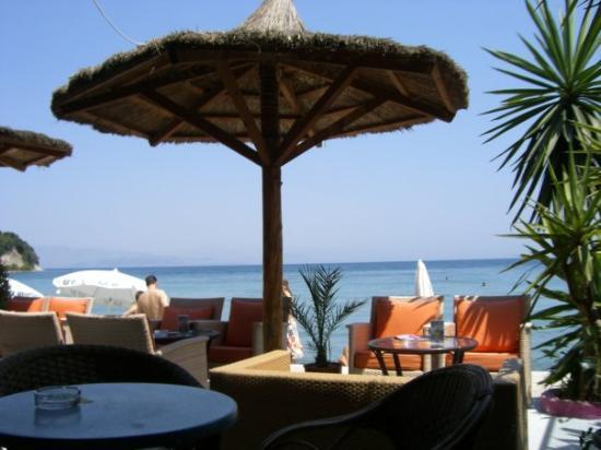 Dassia, กรีซ: il blue bay...da mario il nostro ristorante del pranzo